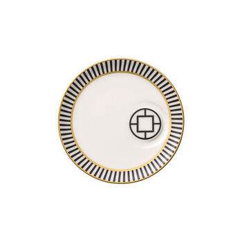 MetroChic Espresso Cup Saucer 5.75 in