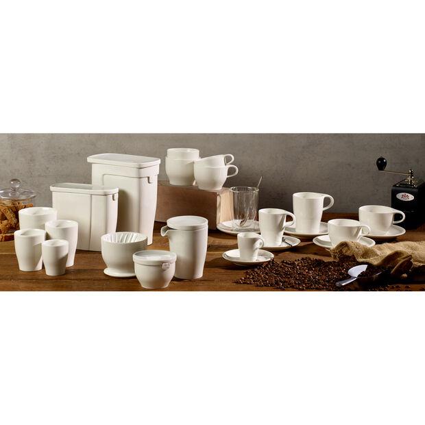 Coffee Passion Latte Macciato Glass Mug and Saucer Set, , large