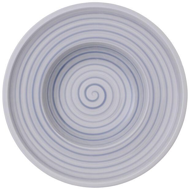 Artesano Nature Bleu Rim Soup 9.75 in, , large