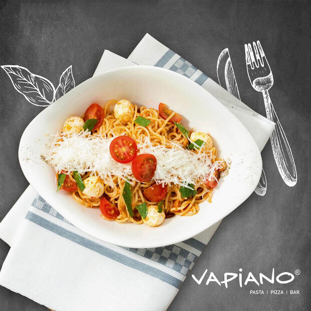 Vapiano Pasta Bowl : Set of 2 10.5 in, , large