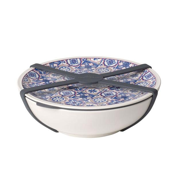 To Go Indigo Dish L, , large