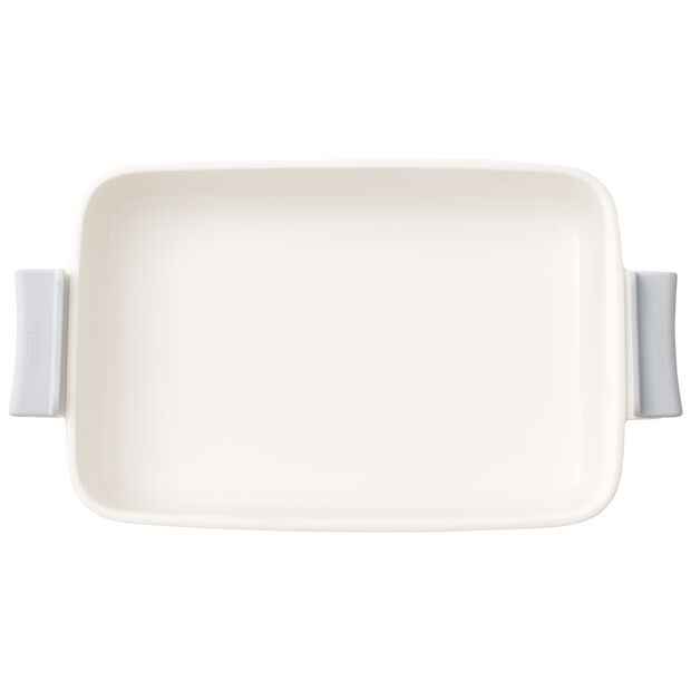 Clever Cooking Rectangular Baker & Silicone Lid/Handles 12x7.75 in, , large