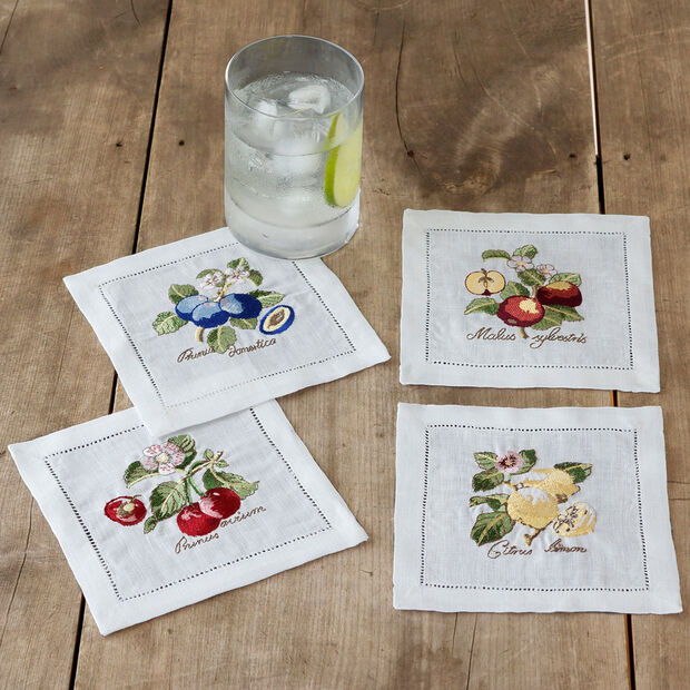 French Garden Cocktail Napkin Set, , large