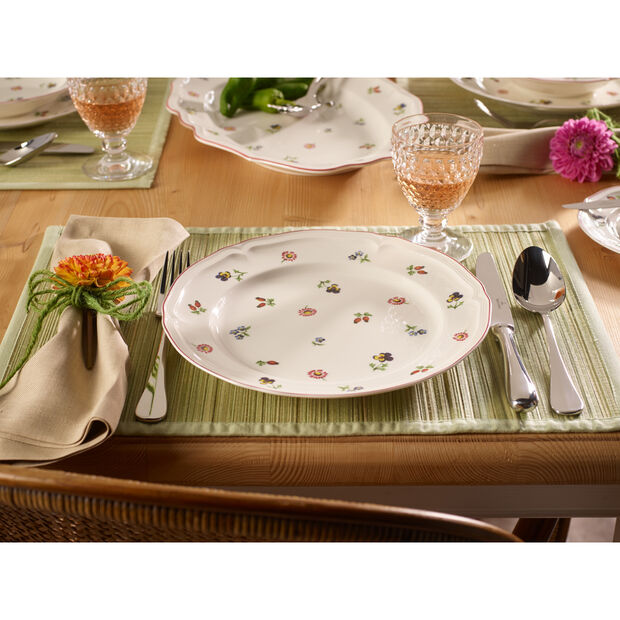 Petite Fleur Dinner Plate 10 1/2 in, , large