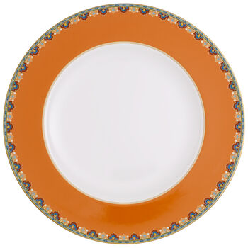 Samarkand Mandarin Dinner Plate 10 1/2 in
