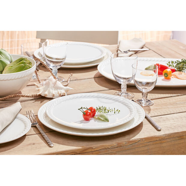 Montauk Pizza Plate/Buffet Plate 12.5 in, , large