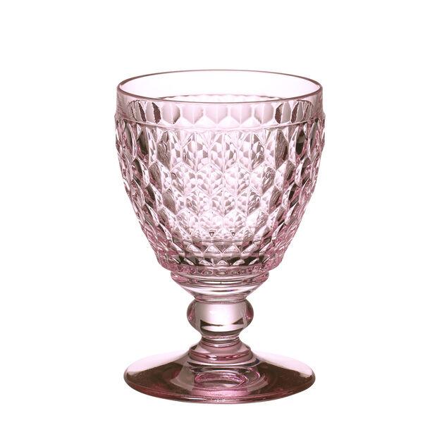Boston Colored Goblet : Rose 14 oz, , large
