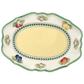 French Garden Fleurence Oval Platter 14 1/2 in