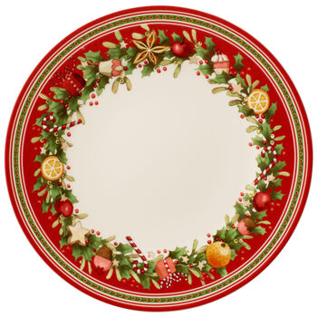 Winter Bakery Delight Dinner Plate 10.5 in