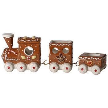 Winter Bakery Decoration Gingerbread Train