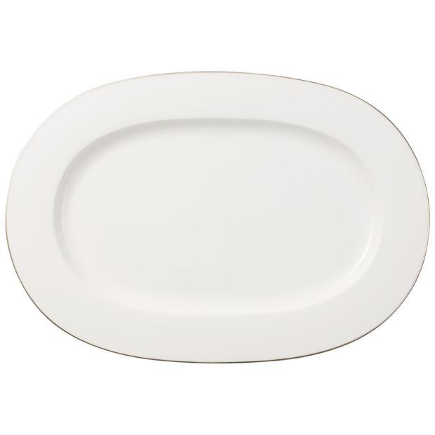 Anmut Platinum No. 1 Oval Platter 16 in, , large