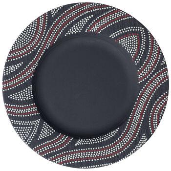 Manufacture Rock Desert Art Dinner Plate 10.5 in