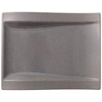 NewWave Stone Large Rectangular Salad Plate 10x .75 in