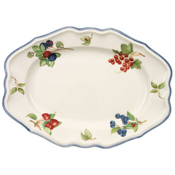Cottage Oval Platter 14 1/2 in
