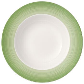 Colorful Life Green Apple Rim Soup