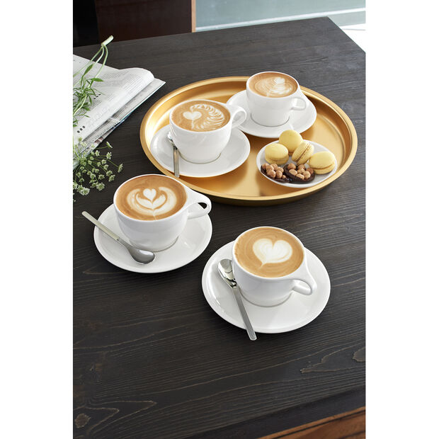 Coffee Passion Cafe au Lait Cup & Saucer Set, , large