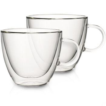 Artesano Hot&Cold Beverages Large Cup, Set of 2 3 3/4 in