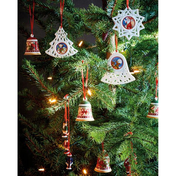 My Christmas Tree Ornament : Trio of Santas, , large
