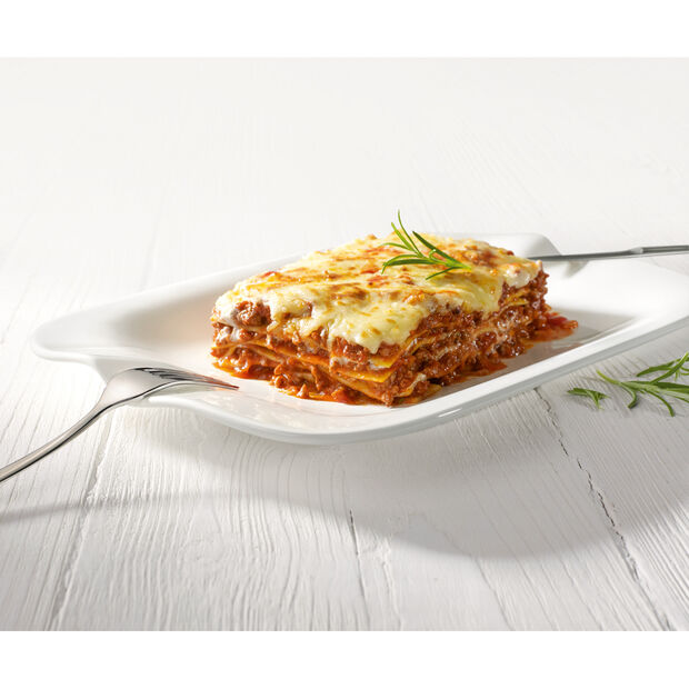 Pasta Passion Lasagne Plate : Set of 2 13 x 9 in, , large