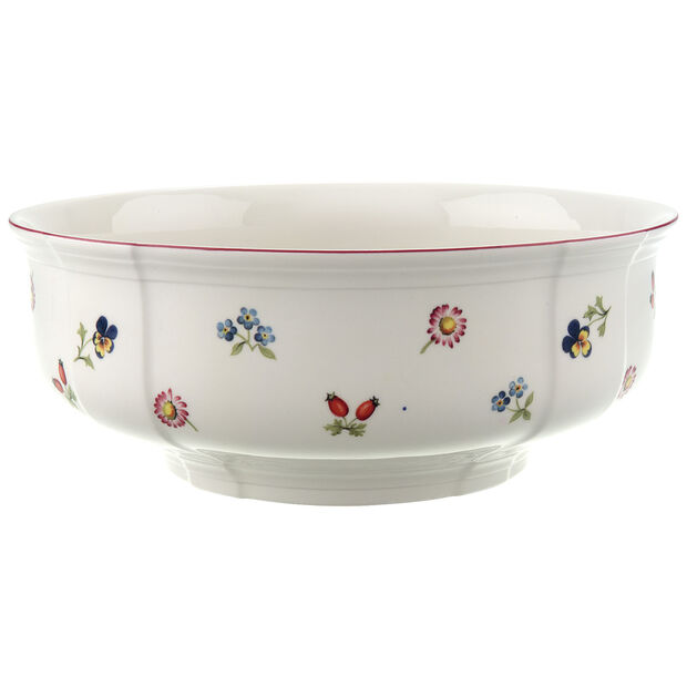 Petite Fleur Round Bowl 9 3/4 in, , large