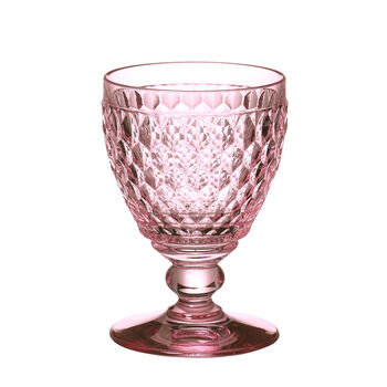 Boston Colored Claret-Rose : Set of 4 11 oz