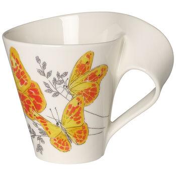 NWC Orange Washed Sulphur Mug : Gift Boxed 10 oz