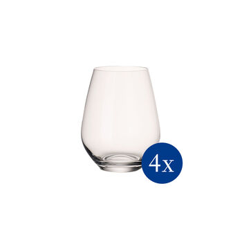 Ovid Water/Juice Tumbler : Set of 4 4.25 in