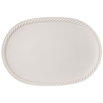 Montauk Oval Platter 17x12 in