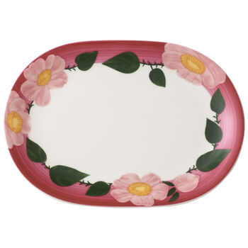 Rose Sauvage Framboise Multifunctional Plate 0
