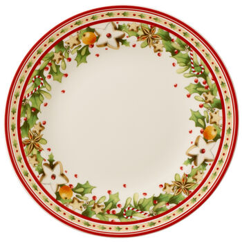 Winter Bakery Delight Salad Plate 8.5 in
