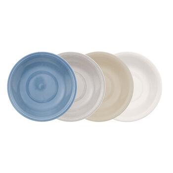 Color Loop Deep Plate : Asst Set of 4