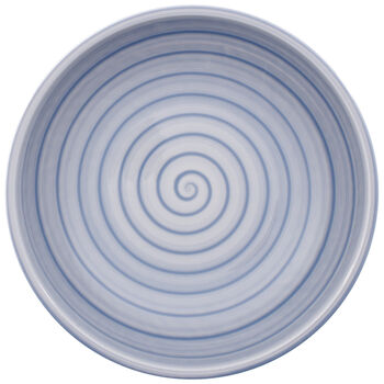 Artesano Nature Bleu Pasta Bowl 9 in