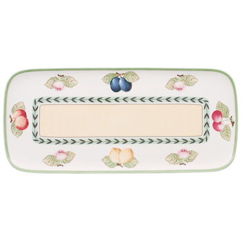 French Garden Charm Sandwich Tray 13 3/4 in