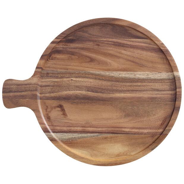 Artesano Original Acacia Antipasti Round Plate 11 in, , large