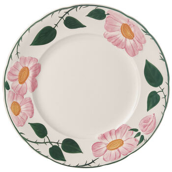 Rose Sauvage héritage Dinner Plate 10.25 in