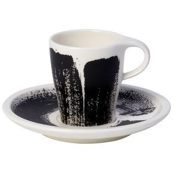 Coffee Passion Awake Espresso Cup & Saucer Set 3 oz