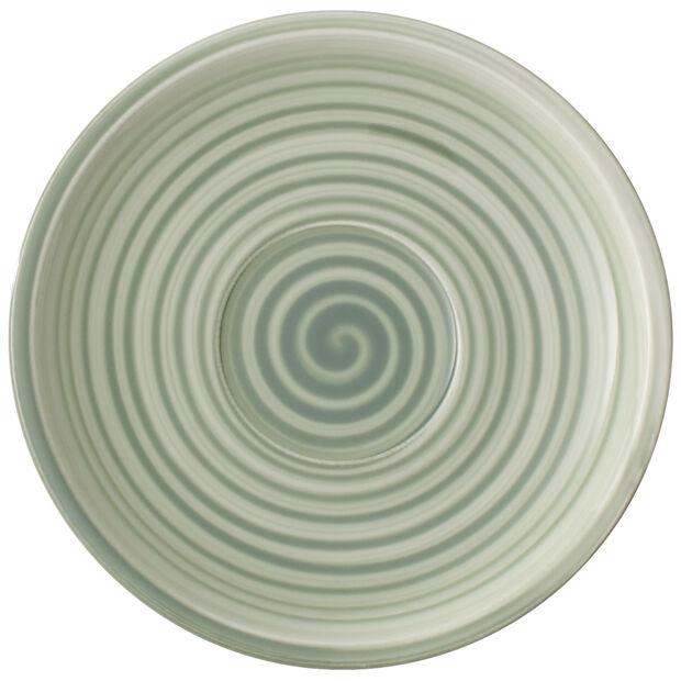 Artesano Nature Vert Tea Cup Saucer 6.25 in, , large
