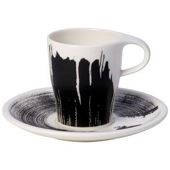 Coffee Passion Awake Doppio Espresso Cup & Saucer Set 6 oz