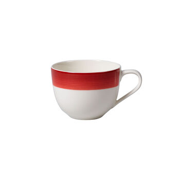 Colorful Life Deep Red Coffee Cup 7 3/4 oz