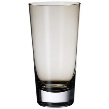 Colour Concept Highball Glass, Smoke 6 1/4 in