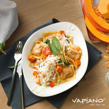 Vapiano Pasta Plate : Set of 2 10.25 in