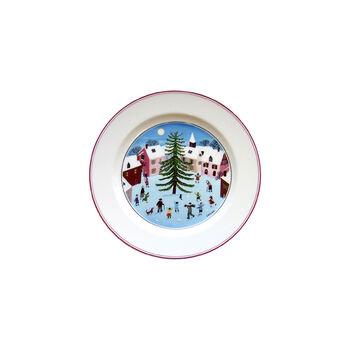Design Naif Christmas Salad Plate, 8.25 Inches