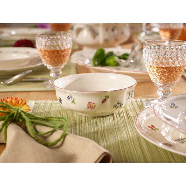 Petite Fleur Cereal Bowl 5 3/4 in, , large