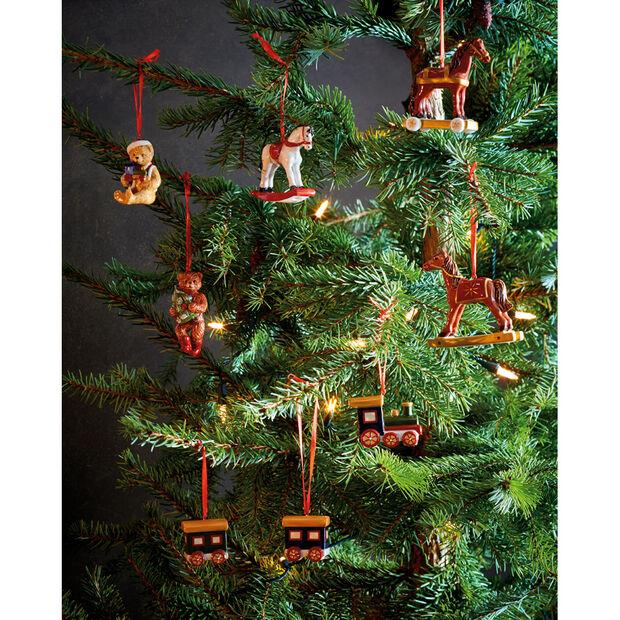 Nostalgic Ornaments Santa Claus Ornaments : Set of 3 3.5 in, , large