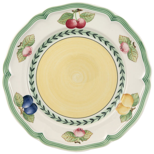 French Garden Fleurence Salad Plate 8 1/4 in, , large