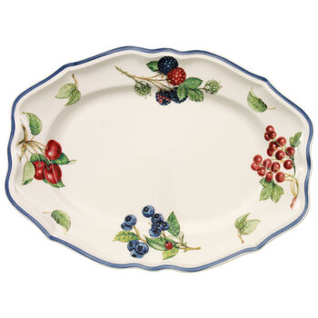 Cottage Oval Platter 11 3/4 in