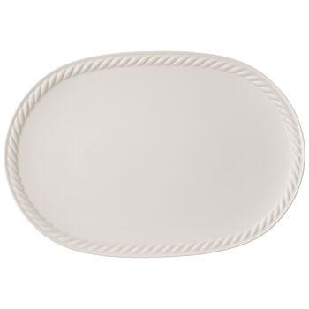 Montauk Oval Platter 17x12 in