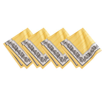 Elrene Audun Napkin:Set of 4 21 x 21 in