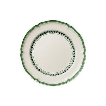 French Garden Green Line Dinner Plate 10.25 in