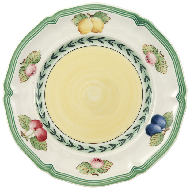 French Garden Fleurence Appetizer/Dessert Plate 6 1/2 in, , large